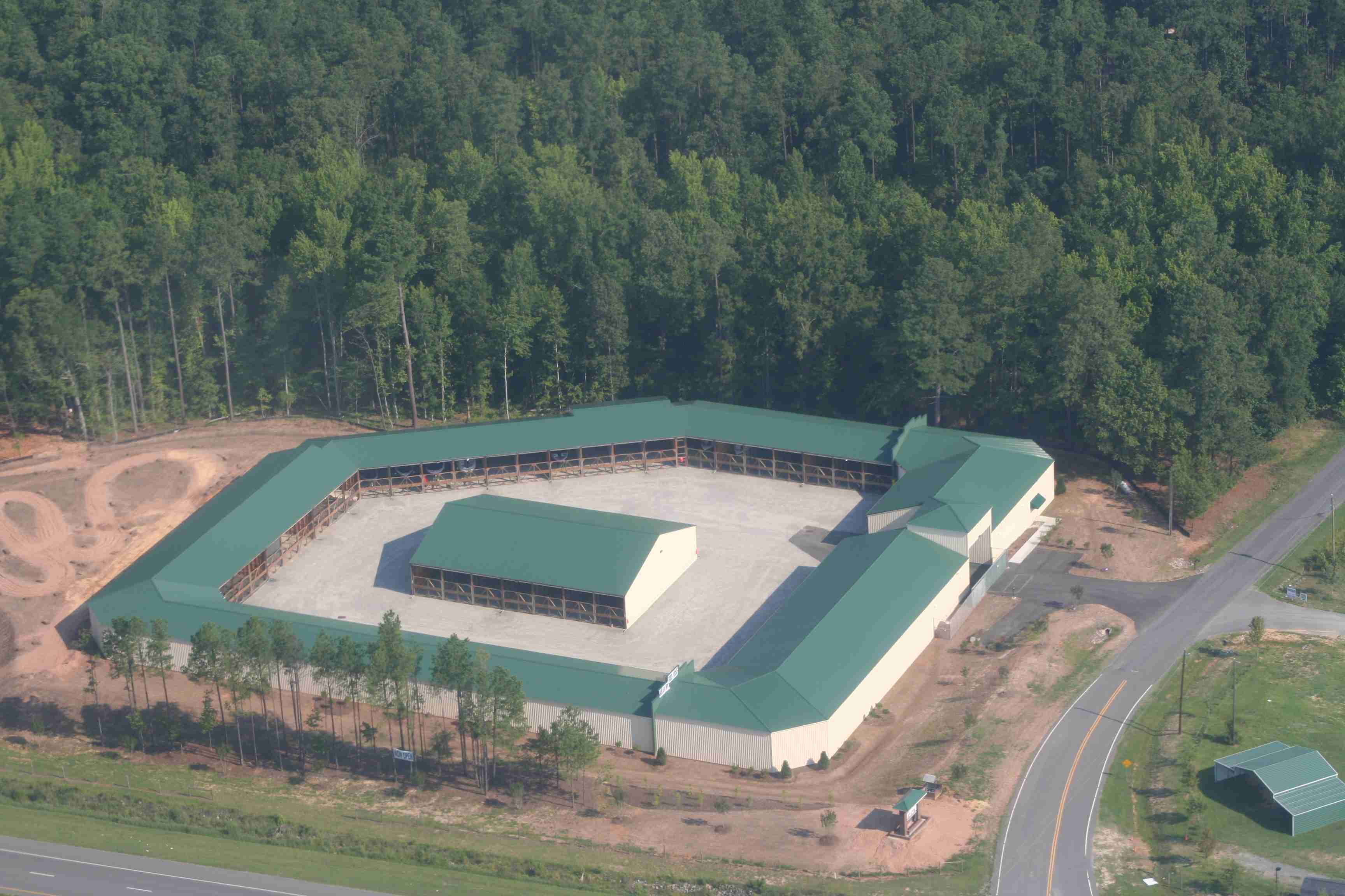 Ariel View of Facility